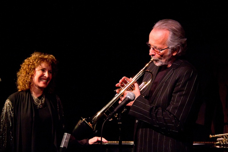 Herb Alpert Lani Hall Cafe Carlyle 2012 by Tristan Fuge